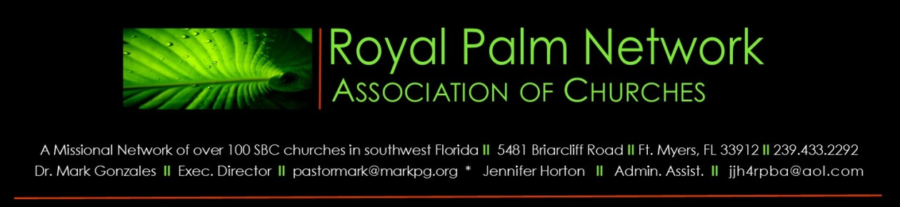 Royal Palm Association of Churches, SBC